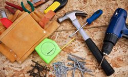 Fill up that tool belt before you get started. Things will go a lot more smoothly.