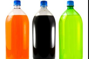After you enjoy the soda, refill empty bottles with gravel or sand for a game of lawn bowling. It might be the most fun you ever have recycling.