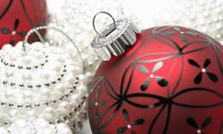 The possibilities with glass balls are endless. See more Christmas pictures.
