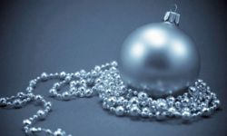 Let the beads be your guide when decorating your ornament.