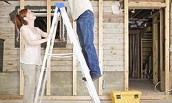 Walking under a ladder can bring bad luck, but if you're not careful, they could do a lot more damage than that.