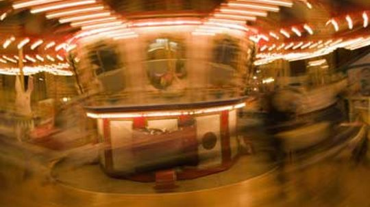 What makes you dizzy when you spin?