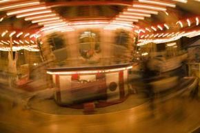 Riding a carousel might send your vestibular system into a frenzy.