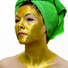 Gold has been said to enhance the elasticity of your skin and slow down the aging process.