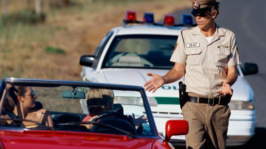 Do red cars get pulled over more often for speeding?