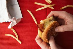 If you're constantly on the go, fast food might be one of your diet staples. See more fast food pictures.