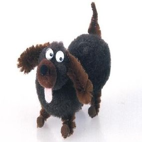 The Dinky the Dachshund Dog Craft will round out your crafty kennel.