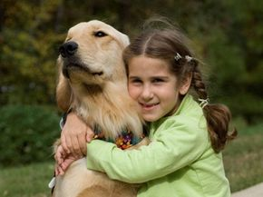 Rachel Walz and her seizure response dog Cappi