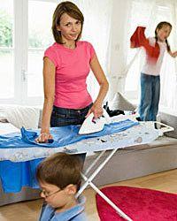Woohoo! Time to fold laundry!