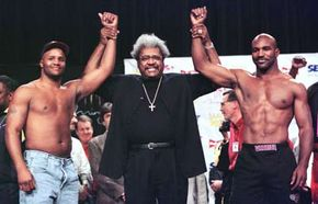 Don King is one of the most famous boxing promoters of all time.