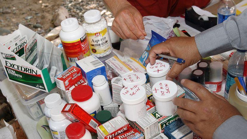 donated medications, Nargis