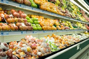 Buying some items in bulk can save you cash, but some, like fresh produce, just aren't meant to be super-sized. See more pictures of green shopping.