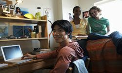 If you've grown up with your own room, college dorm life could be quite the eye-opener.