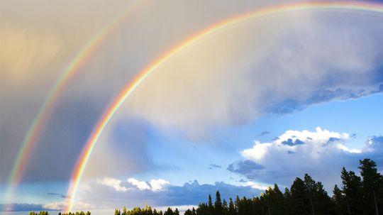 How rare are double rainbows?