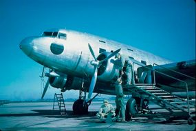 Gen. Dwight Eisenhower cited the Douglas C-47 as a key factor in the successful U.S. military effort.