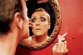Drag queen makeovers are intensive affairs.