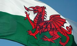 Tales of dragons were so prevalent in Wales that the image of one was adopted for the Welsh flag.
