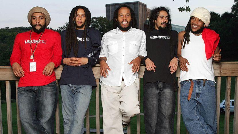 Bob Marley's sons