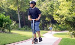 Sidewalks can be a good indicator that there are places like parks within walking distance.