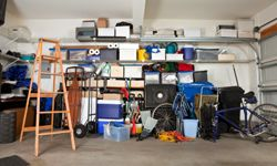 Take your clutter and put them in cabinets.