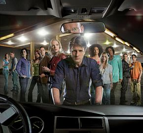 """The cast of """"Drive""""."""