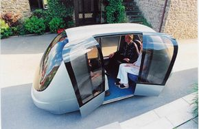 Urban Light Transport is a revolutionary driverless taxicab. It's yet to be seen whether the masses will place trust in driverless cars.