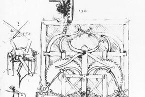 Did Leonardo da Vinci draw the first driverless car?
