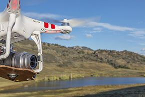 Order your own drone, slap a camera on a mount and head out into the great beyond to make your movie.
