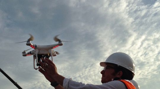 Can drones be used in construction?