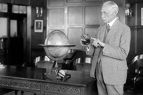 Elmer Sperry, inventor of the gyroscope, was tasked with creating an unmanned aerial vehicle that could deliver and detonate a warhead.