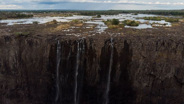 Drought Caused These 6 Famous Waterfalls to Dry Up