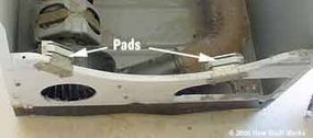 Plastic pads