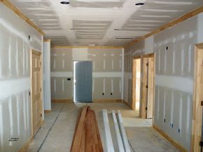This drywall is ready for some paint.