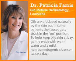 Getting Beautiful Skin Image Gallery Oily skin is often hereditary, but it can be controlled. See more getting beautiful skin pictures.