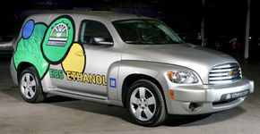 A E85 powered 2009 Chevrolet HHR. See pictures of alternative fuel vehicles.
