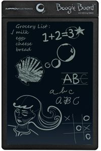 The original Boogie Board only uses battery power when you use the erase function.