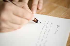 Take the time to write a note to someone in their time of grief.