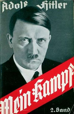 Adolf Hitler found a ready audience for his message (conveyed in his book Mein Kampf), which offered hope and a new order through National Socialism.