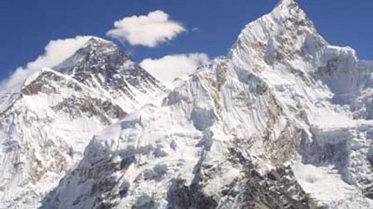 How did they get a huge IMAX camera to the top of Mt. Everest?