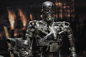 Even stripped of its human disguise, the T-800 exoskeleton relishes a strong desire to kill all humans.
