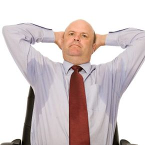 Excessive sweating may be difficult to control with over-the-counter antiperspirants.