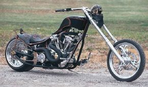 The Executioner is a creative custom chopper build for a popular television program. See more motorcycle pictures.
