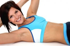 The overall best exercise for strengthening your abs is the bicycle maneuver.