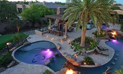 This pool is the most expensive private pool in the entirety of the United States.