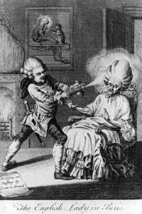 Wigs were kind of a big deal in the 18th century. They were in such widespread use, a tax on wig powder was initiated to raise money for war-entrenched England in 1795. See more personal hygiene pictures.