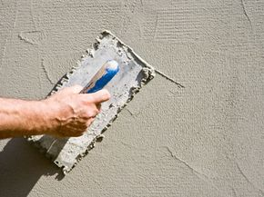 Exterior insulation is often mistaken for stucco or concrete.