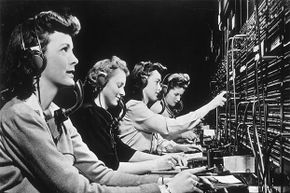 Party line operators no longer exist and switchboard operators are also declining, but in the 1940s both were in great demand.