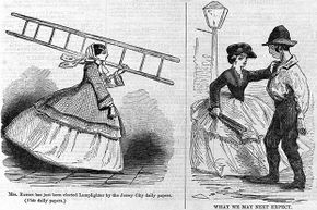 Although most lamplighters were men, occasionally women did the work too, such as Mrs. Ann Eaton from Jersey City, New Jersey in 1857.