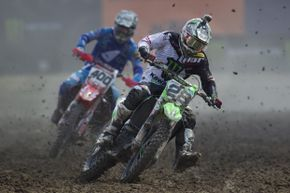 Cleanliness is not an option in motocross races