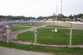 The track at Slinger Super Speedway is equipped to host Figure 8 races.